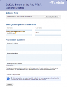 RegistrationScreen