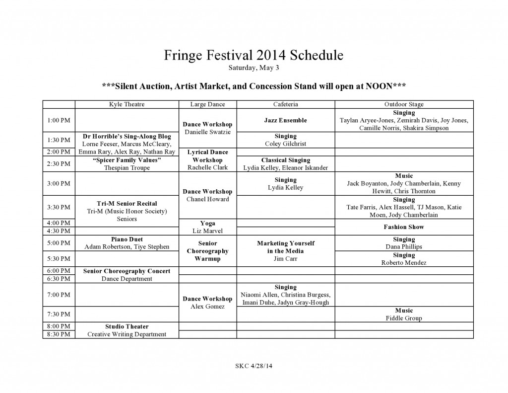 Fringe Festival 2014 Schedule (1)-page0001